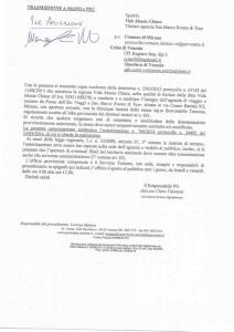 Autorizzazione Provincia di Venezia licenza. attività. Tour Operator